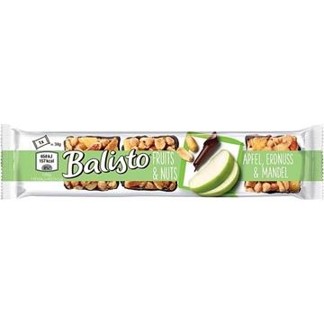 Billede af Balisto Fruits & Nødder, Æble, Peanut & Mandel 34 g.