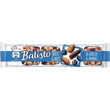 Billede af Balisto Fruits & Nødder, Blåbær & Mandel 34 g.