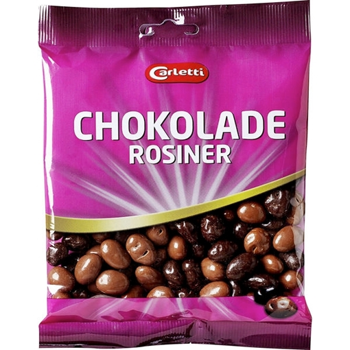 Billede af Carletti Chokoladerosiner 165 g.