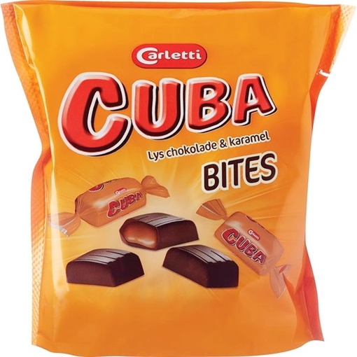 Billede af Carletti Cuba Bites Karamel 150 g.