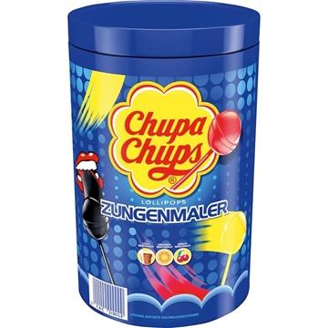Billede af Chupa Chups Slikkepind (farver tungen) 12 g.