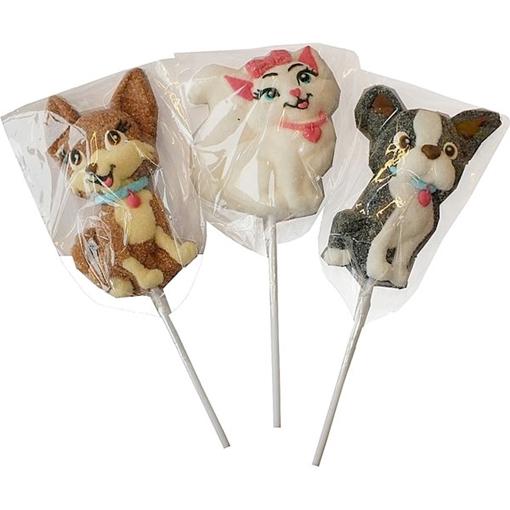 Billede af DOK Barbie  Marshmallows Pops 35 g. (1 stk.)
