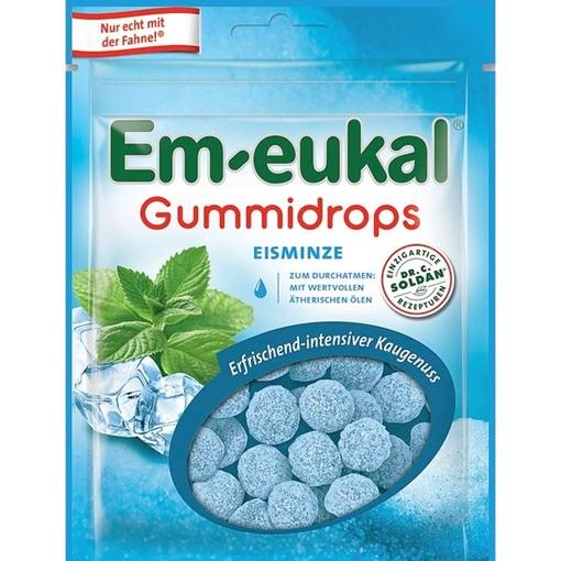 Billede af Em-eukal Gummidrops Mynte 90 g.
