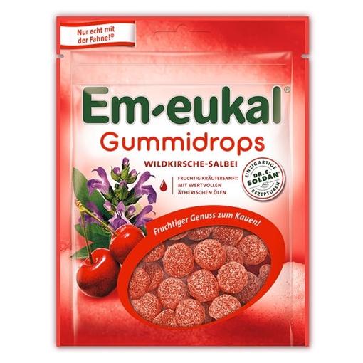 Billede af Em-eukal Gummidrops Vild Kirsebær og Salvie 90 g.