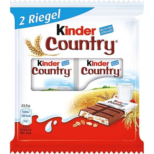 Billede af Ferrero Kinder Country 2er 47 g.