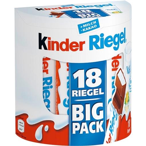 Billede af Ferrero Kinder Riegel 18er 378 g.