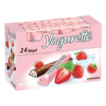 Billede af Ferrero Yogurette Jordbær 300 g.