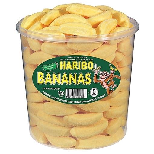 Billede af Haribo Bananer 1050 g.