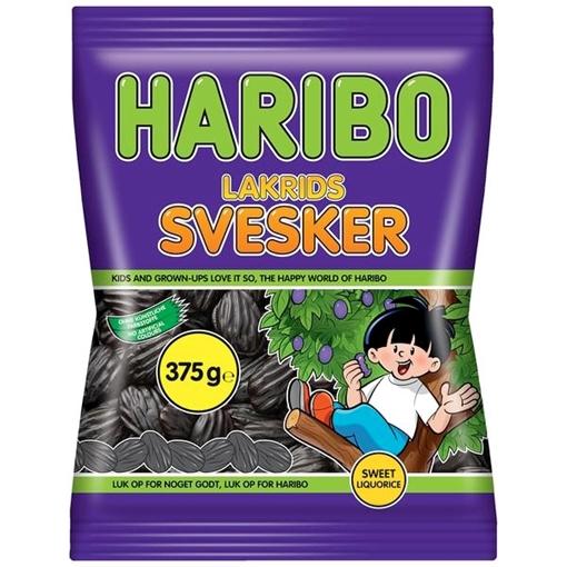 Billede af Haribo Lakrids Svesker 375 g.