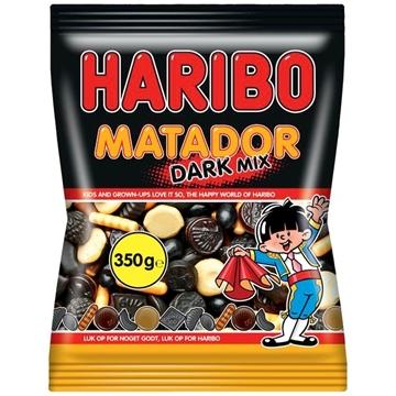 Billede af Haribo Matador Mix  Mørk 350 g.