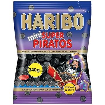 Billede af Haribo Mini Super Piratos 340 g.