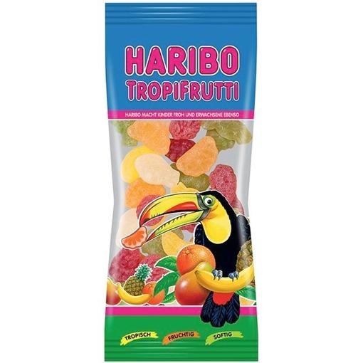 Billede af Haribo Mini Tropi Frutti 75 g.