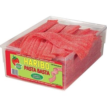 Billede af Haribo Pasta Basta Jordbær Sur 1125 g.