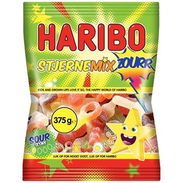 Billede af Haribo Stjerne Mix Sur 375 g.