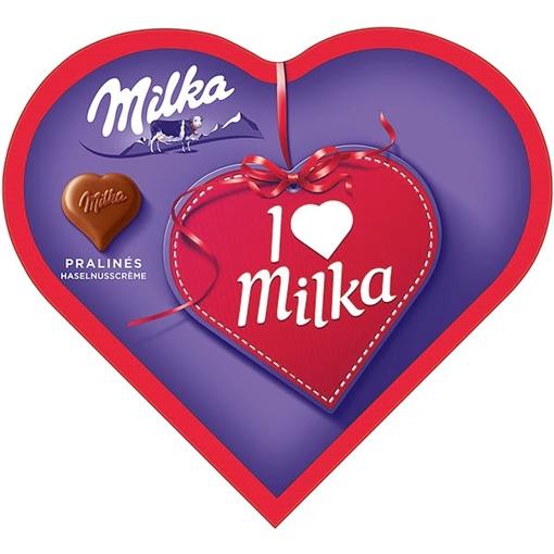 Billede af I Love Milka Hasselnød Creme 44 g.