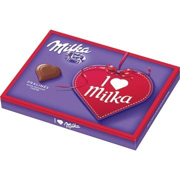 Billede af I Love Milka Nuss-Nougat 110 g.