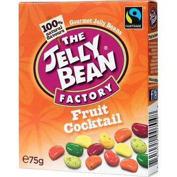 Billede af Jelly Bean Factory Fruit Cocktail Fair Trade Box 75 g.