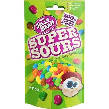 Billede af Jelly Bean Factory Super Sours 113 g.