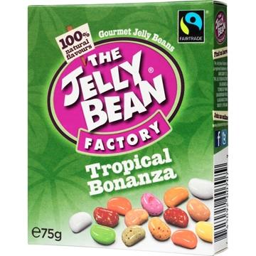 Billede af Jelly Bean Factory Tropical Bonanza Fair Trade Box 75 g.