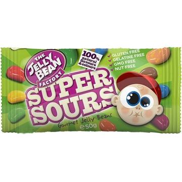 Billede af Jelly Beans Super Sours 50 g.