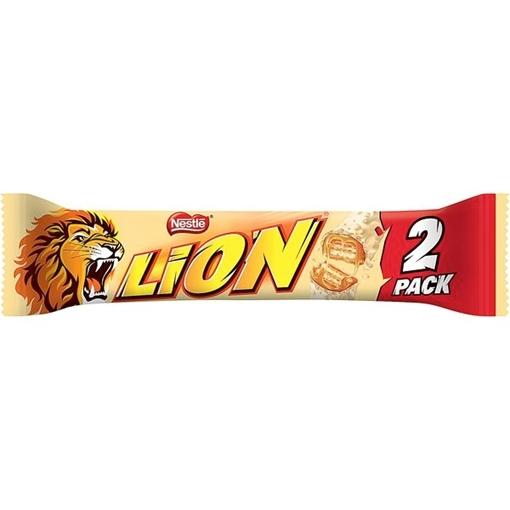 Billede af Lion White 2er-Pack 60 g.