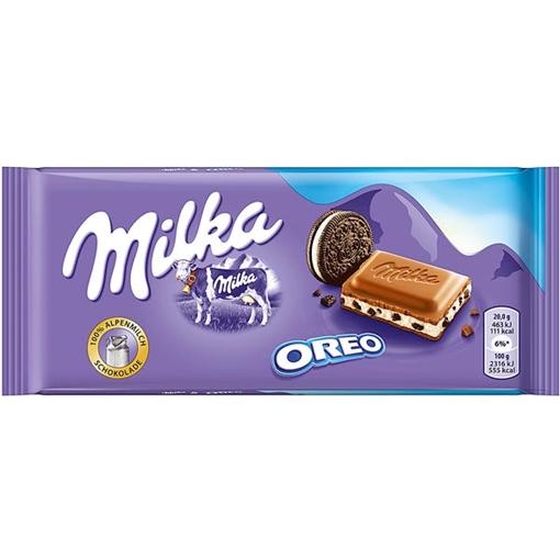 Billede af Milka & Oreo 100 g.