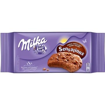 Billede af Milka Cookie Sensations Choco innen soft 156 g.