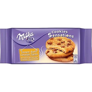 Billede af Milka Cookie Sensations innen soft 156 g.
