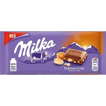 Billede af Milka Erdnuss Crisp 90 g.