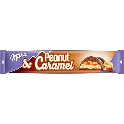 Billede af Milka Peanut Caramel 37 g.