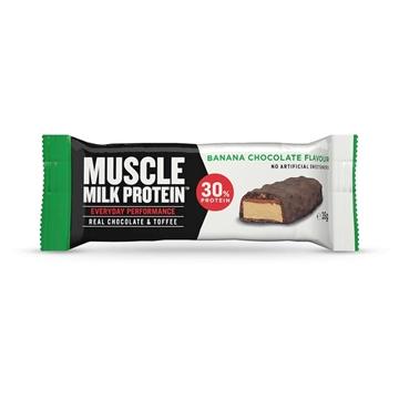 Billede af Muscle Milk Protein Riegel, Banane Schoko 35 g.
