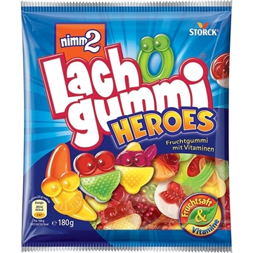 Billede af Nimm 2 Lachgummi Heroes 180 g.