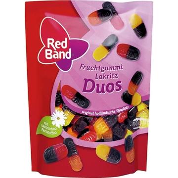 Billede af Red Band Fruchtgummi Lakritz Duos 200 g.