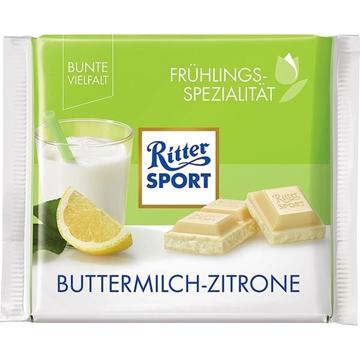 Billede af Ritter Sport Buttermilch Zitrone 100 g.