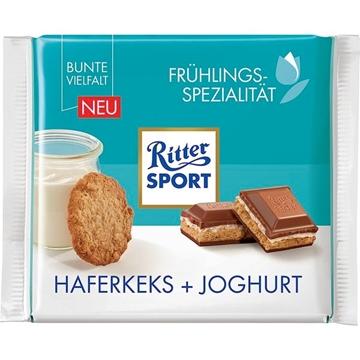 Billede af Ritter Sport Haferkeks Joghurt 100 g.