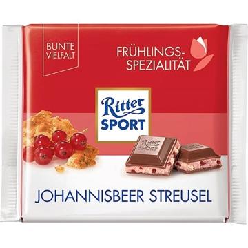 Billede af Ritter Sport Johannisbeer Streusel 100 g.