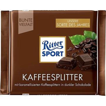 Billede af Ritter Sport Kaffeesplitter 100 g.