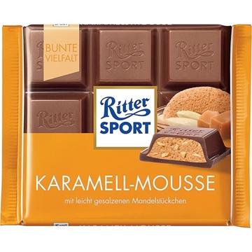 Billede af Ritter Sport Karamell-Mousse 100 g.