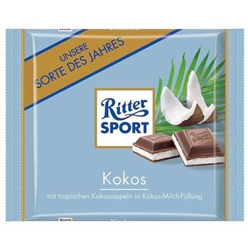 Billede af Ritter Sport Kokos 100 g.