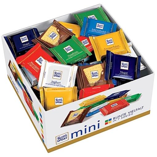 Billede af Ritter Sport Mini kasse  84 x 16,6 g.