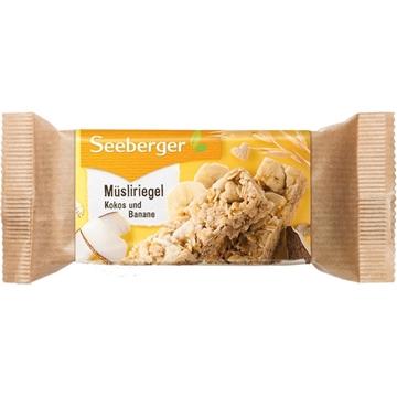 Billede af Seeberger Müsliriegel mit Kokos und Banane 50 g.