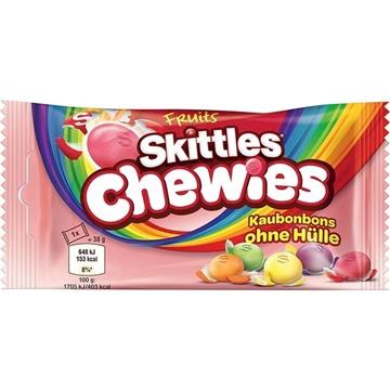 Billede af Skittles Chewies 38 g.