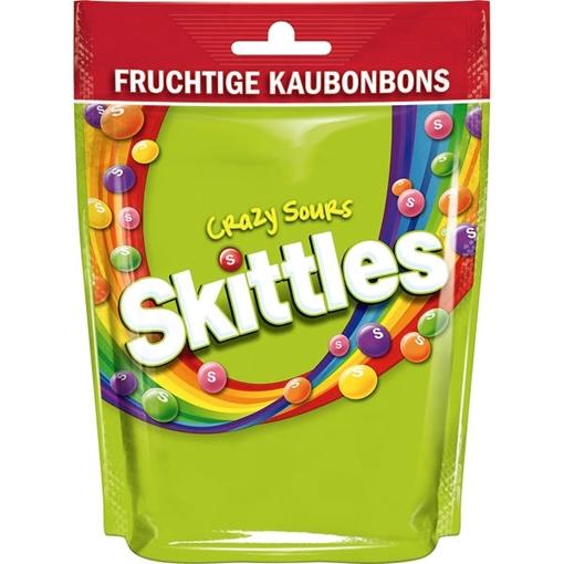 Billede af Skittles Crazy Sours 160 g.