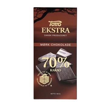 Billede af Toms Ekstra 70% 100 g.