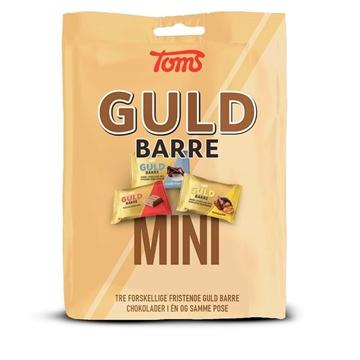 Billede af Toms Guld Barre Mini 150 g.