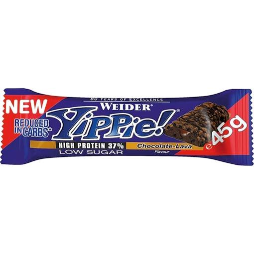 Billede af Weider Yippie! Bar Chocolate Lava 45 g.