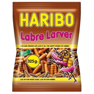 Billede af Haribo Labre Larver 325 g.