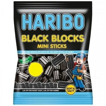Billede af Haribo Black Blocks 350 g.