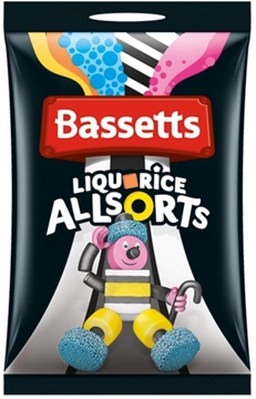 Billede af Bassett's Liquorice Allsort 1000 g.