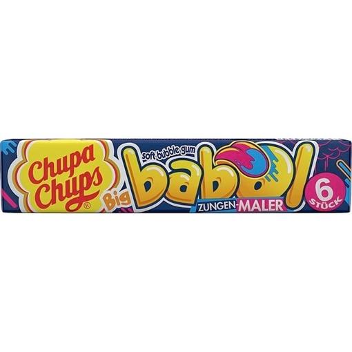 Billede af Chupa Chups Big Babol (farver tungen) 27 g.